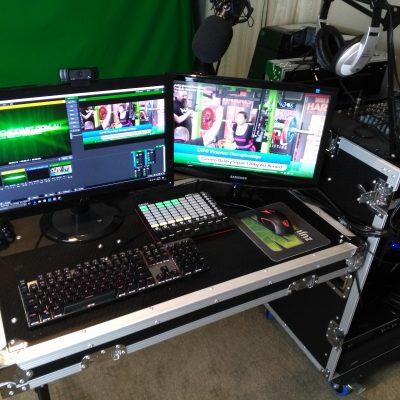 Studio Setup Live Webcast Production
