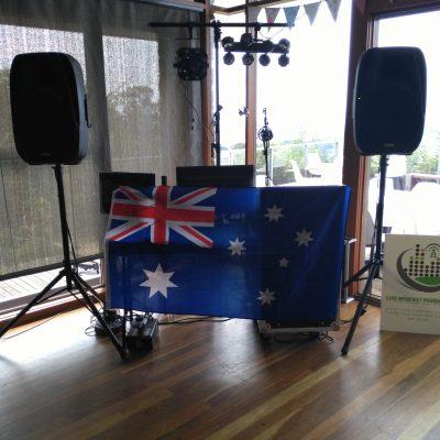 Australia Day Mobile Disco
